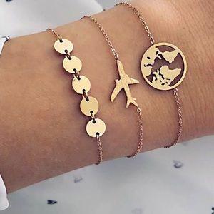 Jewelry - New set bracelets of 3